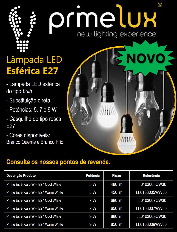 Lâmpada LED E27