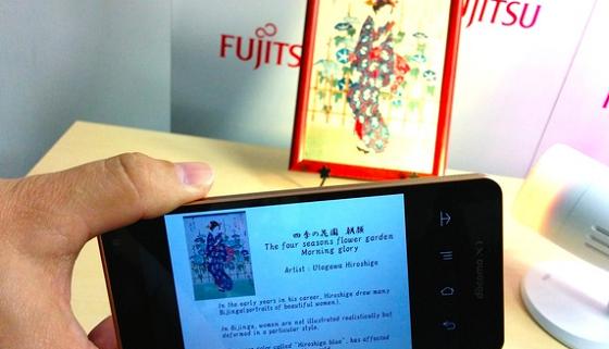 Fujitsu incorpora dados na iluminação LED
