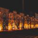 Iluminação pública LED numa rua em Aveiro